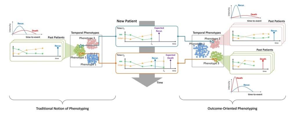 Survival analysis - predictive clustering